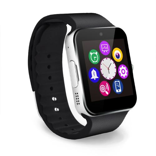 Con un diseño impecable a base de una aleación de titanio y correas de silicón, el smartwatch GT08 de Newvision es el reflejo de la perfección.
