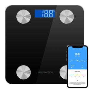 Balanza Digital De Baño Para Personas Newvision NW700BF Bluetooth