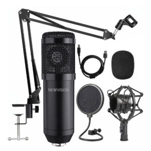 Kit Microfono Condenser Usb Profesional NEWVISION NW-700